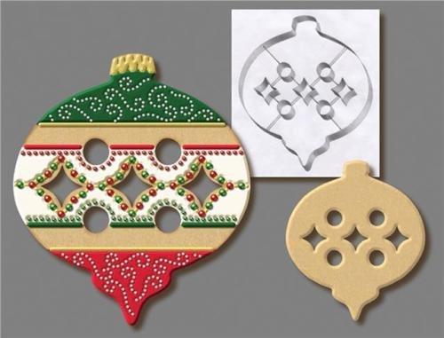 Unbekannt Anniversary House Weihnachtskugel mit Punchout Deluxe Cookie/Pie Top Cutter Pie Top Cutter