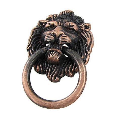 Sourcingmap a11100700ux0050 - Ottone epoca maniglia dell'armadio armadio porta tirare testa di leone