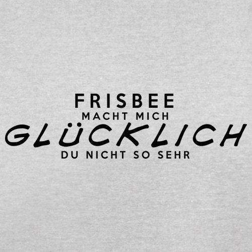 Frisbee macht mich glücklich - Herren T-Shirt - 13 Farben Hellgrau