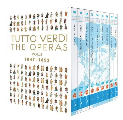 Tutto Verdi - Epochenbox Vol. 2 (1847 - 1853) [9 DVDs] Preisvergleich