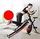 YUHAIJIE Combinate Fitness Equipment Noi Vita Macchina supina Piatto Addome Macchina Controllo Magnetico Fitness Dynamic Cycling Multi-Funzione