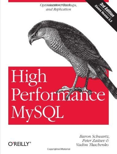 High Performance MySQL: Optimization, Backups, and Replication by Schwartz, Baron, Zaitsev, Peter, Tkachenko, Vadim (2012) Paperback