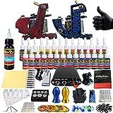 Tattoo Machine Set, 2 Tipi Di Macchine 28 Tipi Di Colori, Nebbia Secante, Rifornimento Per Gli Artisti