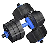 LIULU Verstellbare Hanteln for die Fitness-Armmuskulatur Fitness-Hantel Umweltfreundliches Training...
