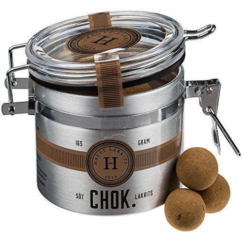 Haupt Lakritz - Réglisse sucrée au chocolat « Chok » - 165 g