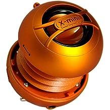XMI Xmini Uno - Mini altavoz portátil para iPhone/iPad/iPod/MP3 Player/Portátil - Naranja