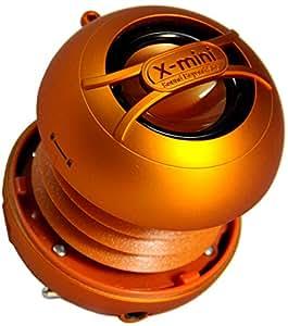 XMI Xmini Uno Mini enceinte portable pour iPhone/iPad/iPod/lecteur MP3/ordinateur portable Orange
