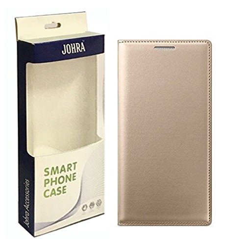 Samsung Galaxy J7 Prime Flip Cover, Leather Gold Golden Flip Cover Case For Samsung J7 Prime Flip Cover