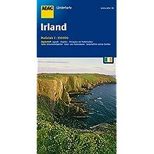 ADAC Länderkarte Irland 1:300.000 (ADAC Länderkarten)
