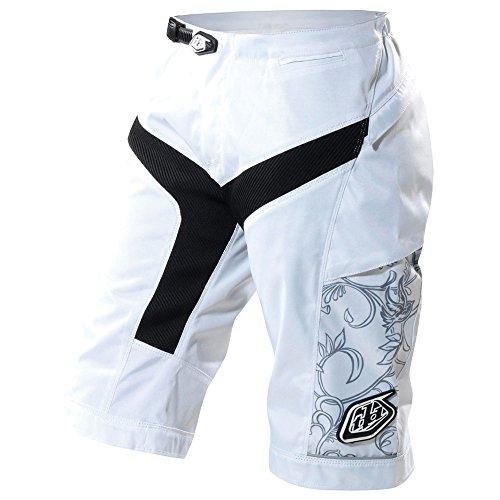 Troy Lee Designs Pantaloni Corti Moto Donna Bianco 2013 Taglia L