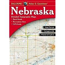 Nebraska - Delorme 2nd (Delorme Atlas & Gazetteer)