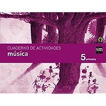 Cuaderno de música. 5 Primaria. Savia - 9788467574913