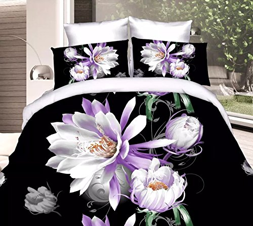 Dexim 3D Print Double Bed Sheet with Two Pillow Cover Set  available at amazon for Rs.899