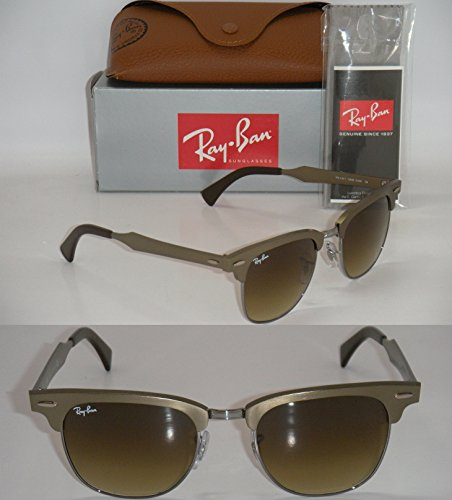 ray-ban-clubmaster-aluminum-rb-3507-139-85-51mm-brushed-bronze-light-brown-new