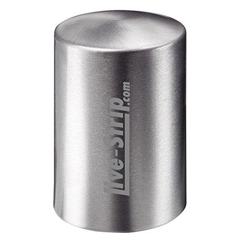 Flaschen-Öffner in Silber-Optik | Kapselheber | Push | Öffner | Live-Strip