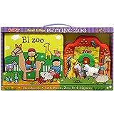 El zoo: Libro de tela, zoo y 4 figuras (Libros de tela)