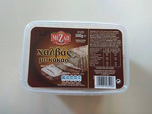 MeZap Classic Griechisch Halva mit Kakao 500g