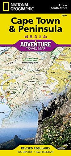 Cape Town & Peninsula: Travel Maps International Adventure Map (National Geographic Adventure Map)