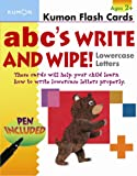 ABC's Write and Wipe!: Lowercase Letters [With Pen] (Kumon Flash Cards)