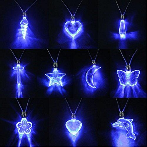 etic Licht Charm Anhänger Halskette Geschenk Weihnachten Geburtstag ()
