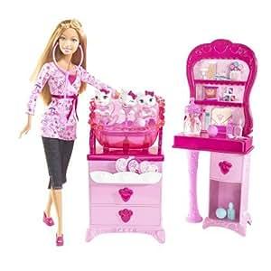 Mattel - M6746 - Poupée - Barbie - Clinique Veterinaire + Poupee