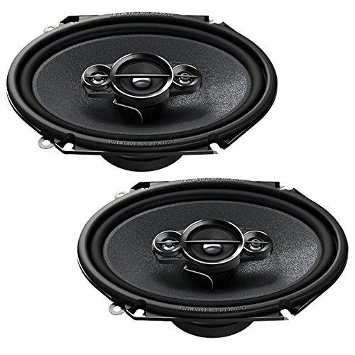 Pioneer TS-A6834I KFZ spezifischer 14,5 x 20,4 cm (6 x 8 Zoll) 4-Wege Koaxial Lautsprecher mit 350W...