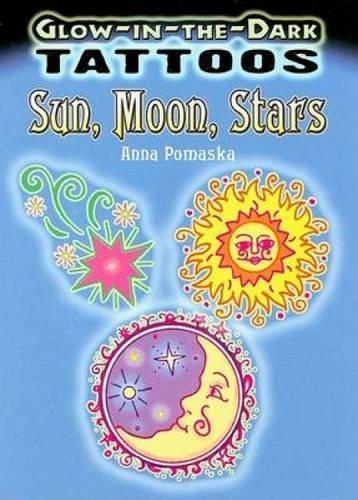 Glow-In-The-Dark Tattoos: Sun, Moon, Stars