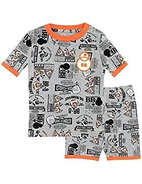 Star Wars Pijamas de manga corta para Niños BB8 Ajuste Ceñido