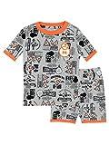 Star Wars Jungen BB8 Schlafanzug Slim Fit Grau 128