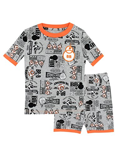 Star Wars Boys BB8 Pyjamas Snuggle Fit Ages 3 to 13 Years