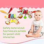 Freeas Baby Spiral Activity Hanging Toys Stroller toys Cart Seat Pram Toy with Ringing Bell