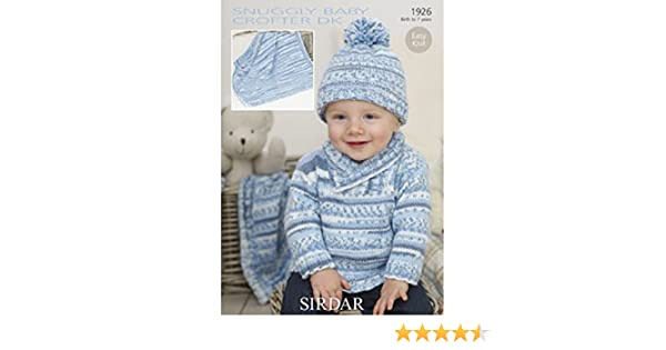 d8f15895a Sirdar 1926 Knitting pattern: Amazon.co.uk: Kitchen & Home