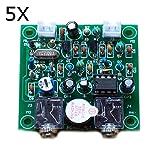 LaDicha 5 X Diy Qrp Pixie Cw Ricevitore Trasmettitore Kit 7.023 Mhz Radio A Onde Corte