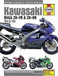 Kawasaki Ninja ZX-7R & ZX-9R '94 to '04: 1994 to 2004 (Haynes Repair Manual)