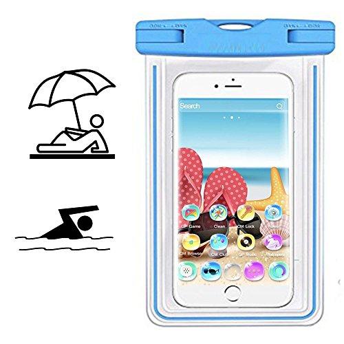Smartphone Schutzhülle | Mobiwire Taima | Wasserdichte | Staubdichte Handy Beachbag | HBB Türkis
