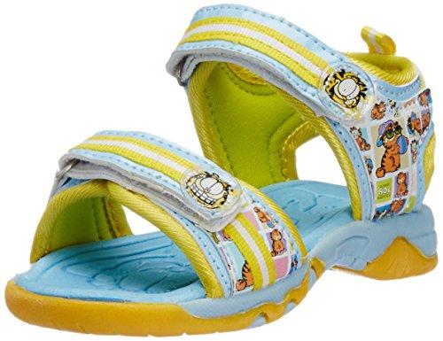 Garfield Boy's Sky Vinyl Sandals and Floaters - 4C UK