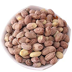 Sakr Products Roasted Salted Peanuts Seeds (Bharuch Gujrat Special) Mungfali Dana Namkeen Spicy Chakna (1800 GMS)