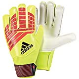 adidas Kinder Torwarthandschuhe Predator Solar Red/Solar Yellow/Black 6.5