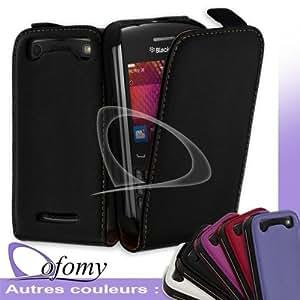 Dofomy - Housse Coque Etui Slim Noir Pour Blackberry Curve 9360