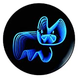 Pure Evil Neon Bunny Royal Doulton Street Art Collection Plate