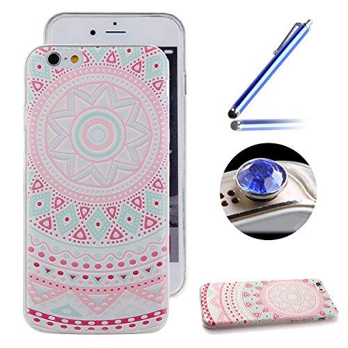 Etche Boîtier en caoutchouc pour iPhone 4/4S,Cas de TPU pour iPhone 4/4S,Coque pour iPhone 4/4S,Colorful série Imprimé Housse de la peau de pare-chocs TPU Soft en caoutchouc de silicone pour iPhone 4/ TPU #20