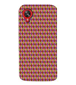 HiFi Designer Phone Back Case Cover LG Nexus 5 :: LG Google Nexus 5 :: Google Nexus 5 ( Colorful Pattern Design )