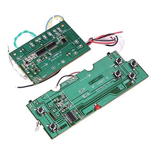 tmallshop einfach 6Kanal Radio RC Transmitter Empfänger-Kit für Heimwerker Fernbedienung Boot Auto Projekte