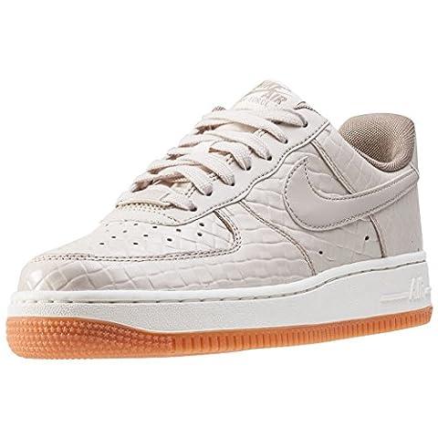 Nike Air Force 1 07 Premium Womens Trainers Cream - 9 UK