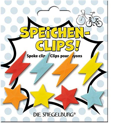 Clip Pegatinas para Radios Accesorios Bicicleta Infantil PIMP MY Bike (8 diferentes)
