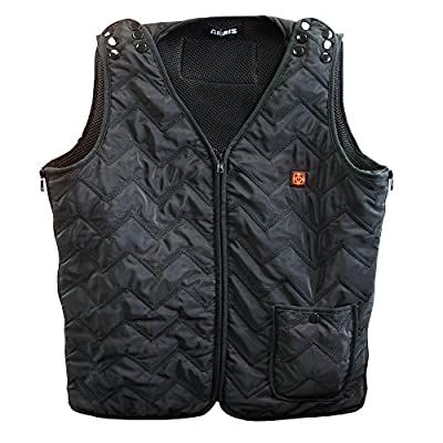 ARRIS Battery Heated Winter Warm Vest Gilet / Electric Heated Vest Outdoor Use Unisex