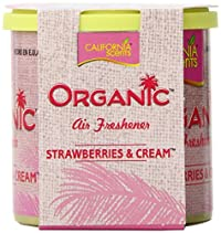 California Scents Organic, Strawberries & Cream, 1.83 Ounce Canister (Pack of 12)