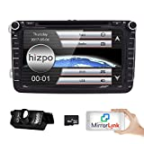 Best Pupug Car Stereo Systems - HIZPO 8 inch Double Din In Dash Car Review