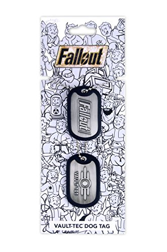 Fallout Dog Tag Vault (Hoodie Tag)