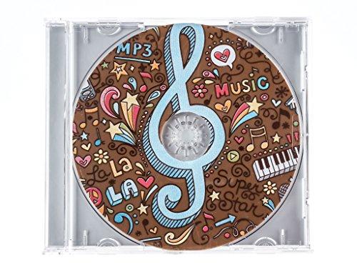 """Preisvergleich Produktbild Schokoladen Geschenkpackung """"CD Music"""" 45g"""